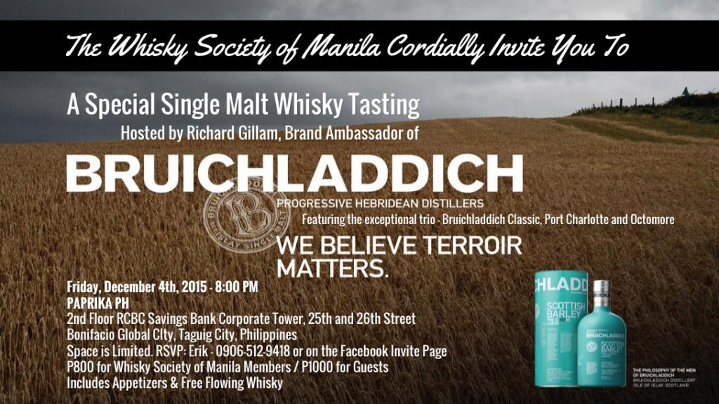 whisky event bruichladdich