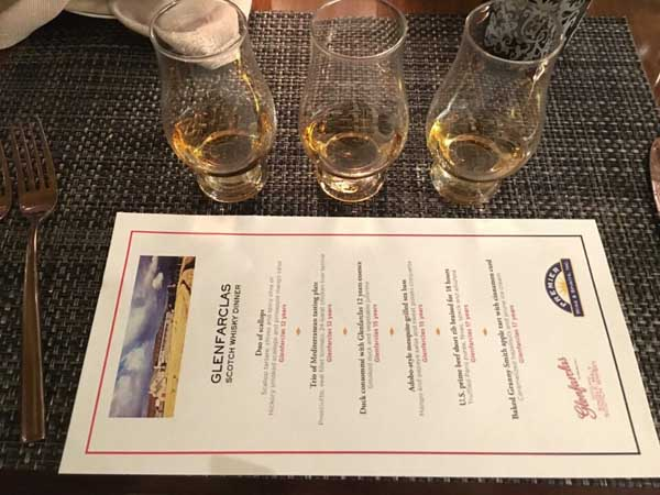We had the chance to taste their 12 year old, 15 year old, and 17 year old whiskies.
